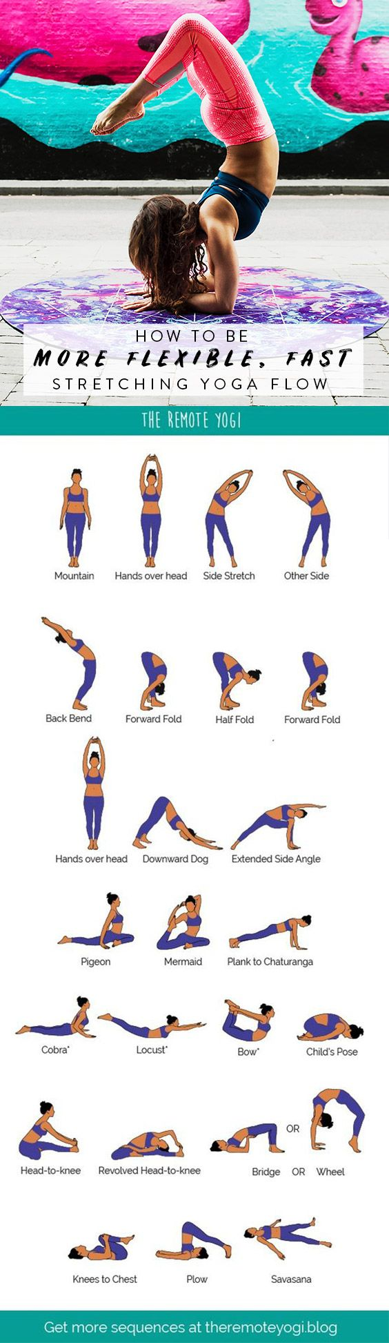Yoga Flow for a Bendy Spine – FREE PDF