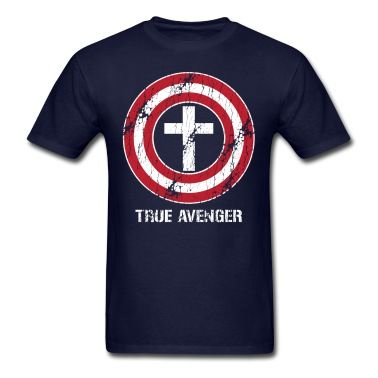 Jesus: True Avenger (Captain America parody)...got it!
