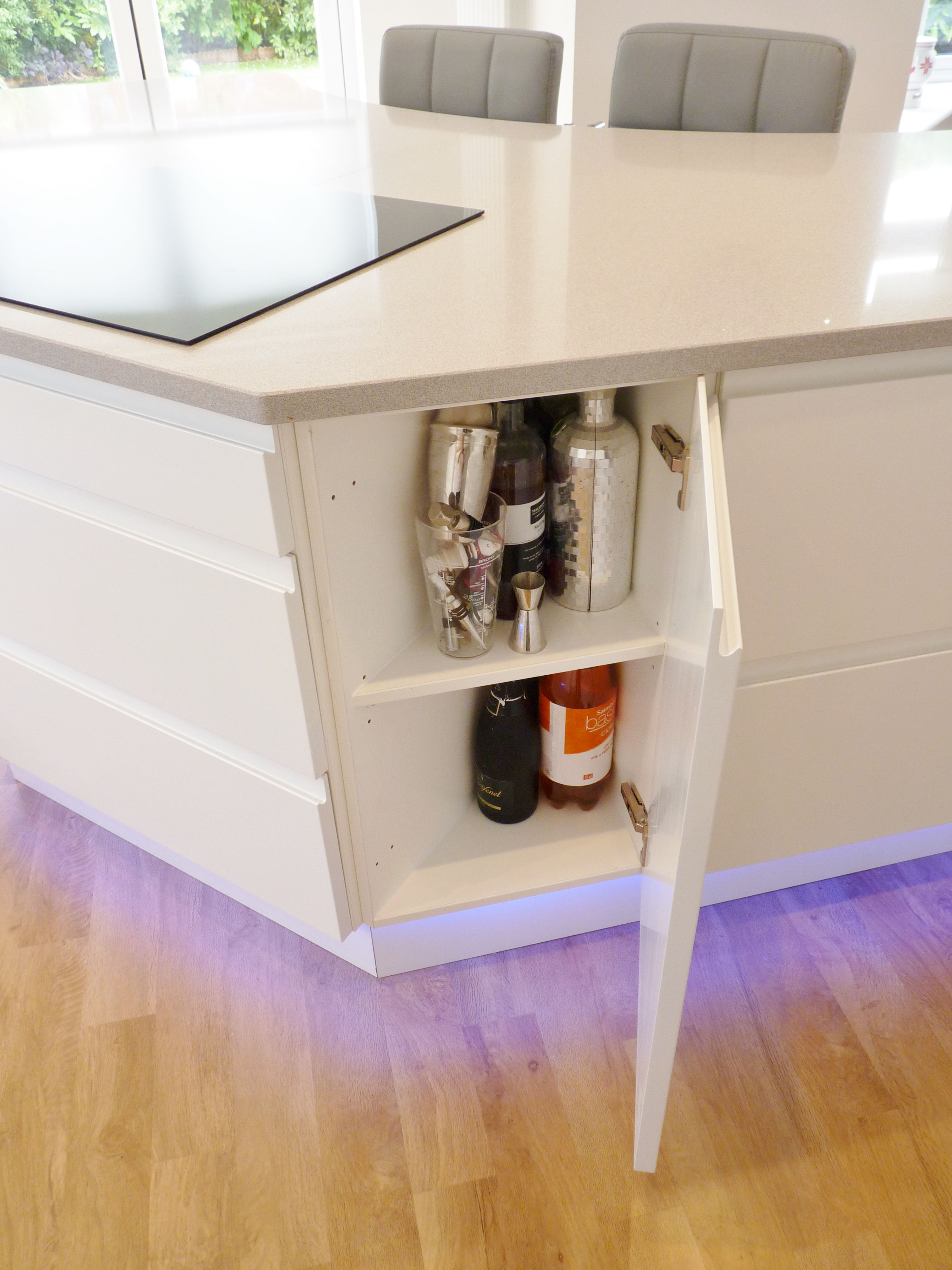 Splayed / Angled Base Cabinet   So Stylish And So Handy! By Dovetail  Kitchens (