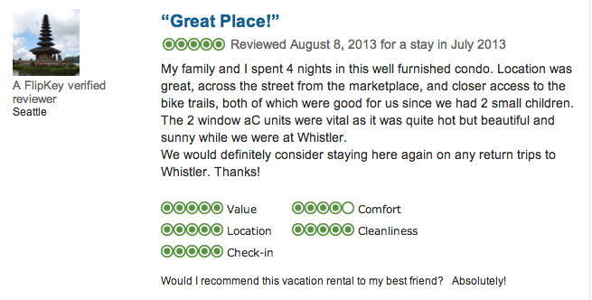Check out our reviews and book today!