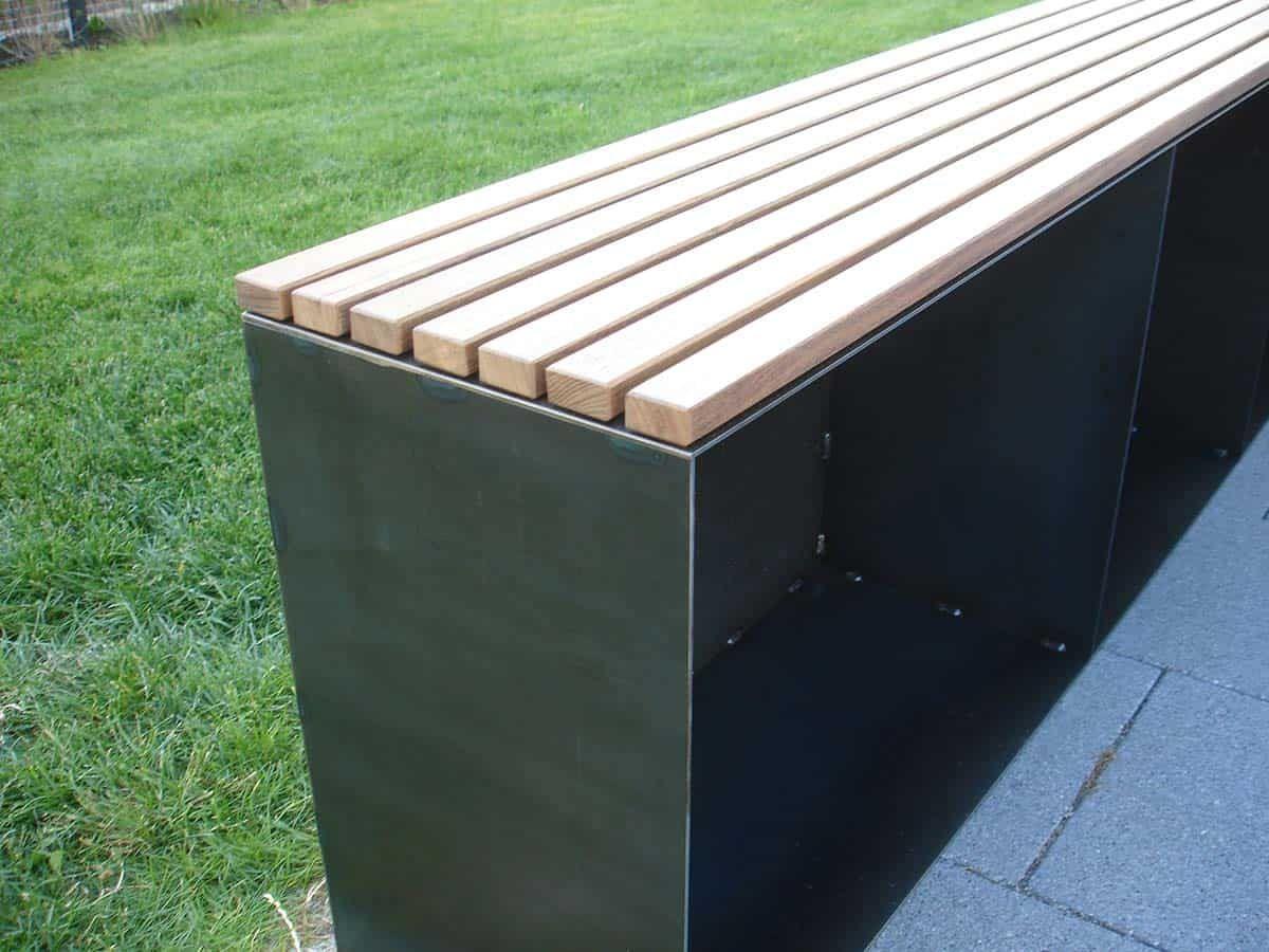 Gartenbank Aus Holz Und Metall Online Kaufen Stahlzart Gartenbank Metall Holz Sitzbank Holz Gartenbank Holz