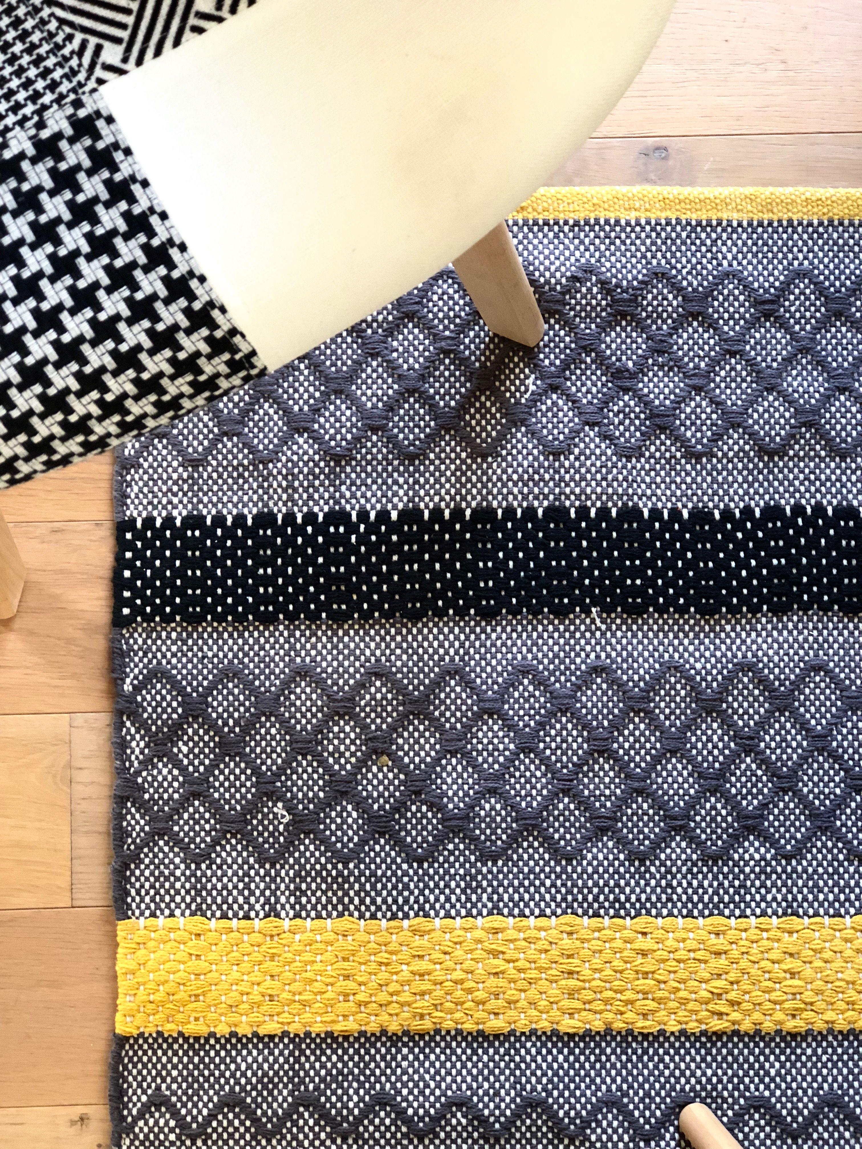 gifi tapis tisse tapis salon