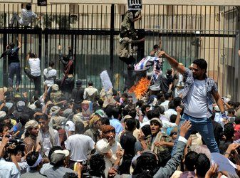 Ongoing protests continue to escalate before U.S. embassies in several Middle Eastern countries over the contents of an American movie that depicts the Islamic Prophet Muhammad in less than favorable light.