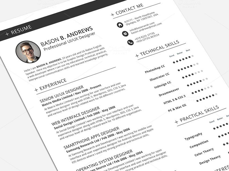 Swiss Style Resume Cv Full Set Template Resume Cv Funny Dating Quotes Resume