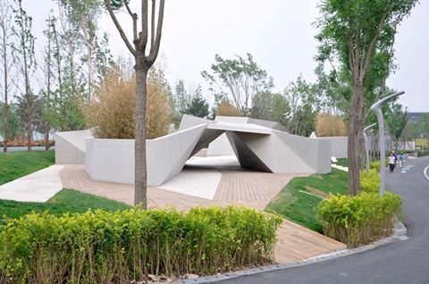 Atelier Drome A D The Ground Plane Modern Garden Landscaping Modern Landscaping Modern Garden