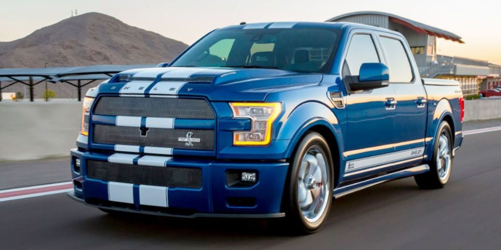 The 750 Hp Shelby F 150 Super Snake Is A 100 000 Thundertruck