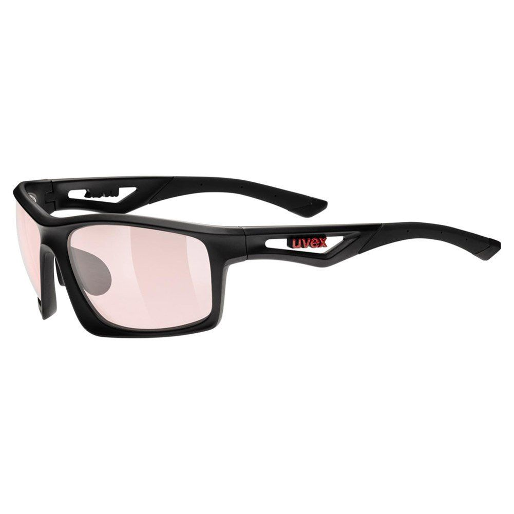 6d32d661cf0 Men Golf Clothing - Uvex Sportstyle 700 Variomatic Sunglasses Black  Matte Rose One Size Mens