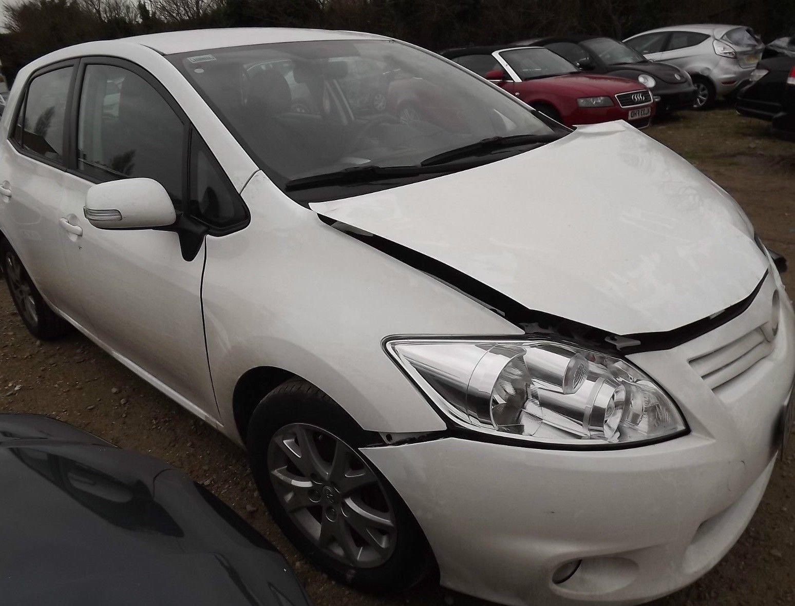 Ebay Toyota Auris Colour Collection V Damaged Repairable Salvage