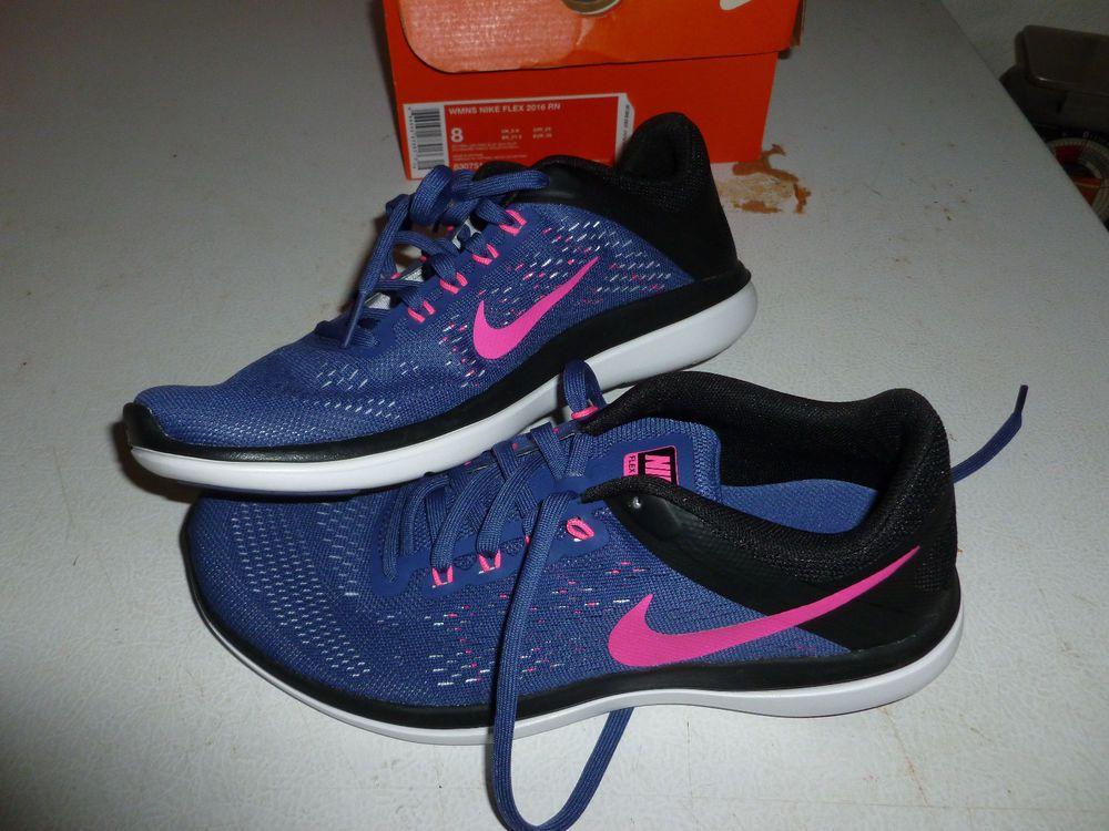 e6e2038fe13c8 New Women s Size 8 Nike Flex 2016 RN Running Shoes 830751-500  nike   RunningCrossTraining