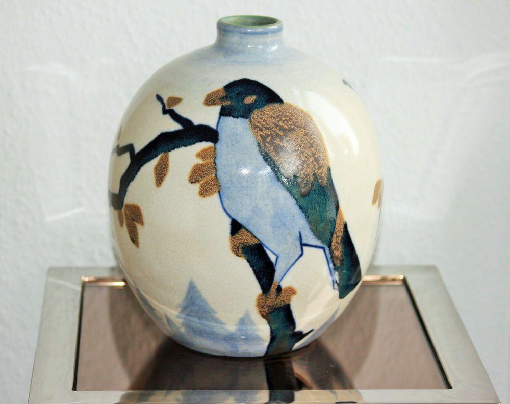 Vase boch freres gres keramis catteau art deco pottery birds art vase boch freres gres keramis catteau art deco pottery birds reviewsmspy