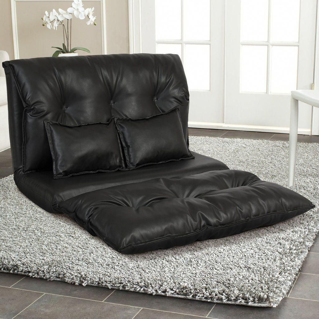 Folding Chair Beds Foam 2 Kids Camo Recliner Foldable Leather Floor Sofa Bed Gaming W Two Pillows In 2018 This Is Crafted With High Density Split And Breathable Pu Cater To Relaxation Comfort