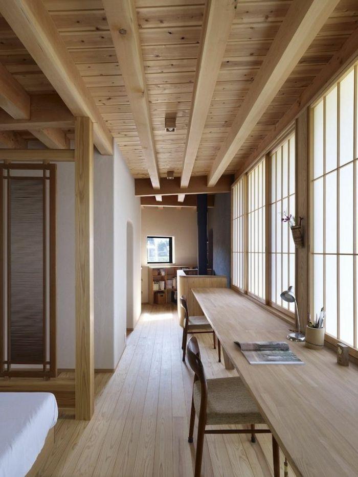 La Decoration Japonaise Et L Interieur Japonais En 50 Photos Decoration Japonaise Interieur Japonais Maison Prefabriquee Bois