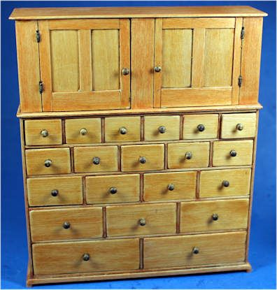 Ken Byers, Shaker Works West   Shaker Cupboard And Case Of Drawers