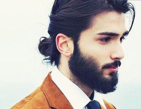 Knot Hairstyle For Men 2016 Long Hair Styles Medium Hair Styles Bun Hairstyles