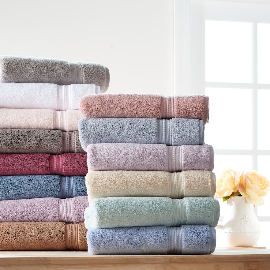 Lc Lauren Conrad Bath Towel Collection At Kohl S With Images