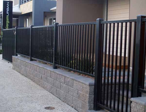 Tube And Tubular Fencing Modern Fence Design House Fence Design