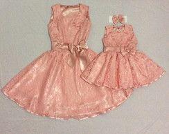 e6ae5434712ada Vestido mãe e filha festa em renda | mother and daughter | Vestido ...