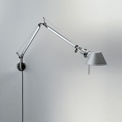 Artemide Tolomeo Micro Wall Led Wall Light Metal Made In Design Uk Eclairage Mural Applique Murale Led Luminaire Applique Murale
