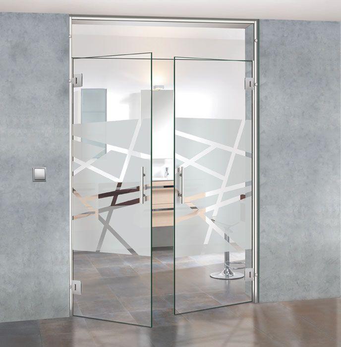 Puertas de paso practicables cristaleria en general - Puertas interior cristal ...