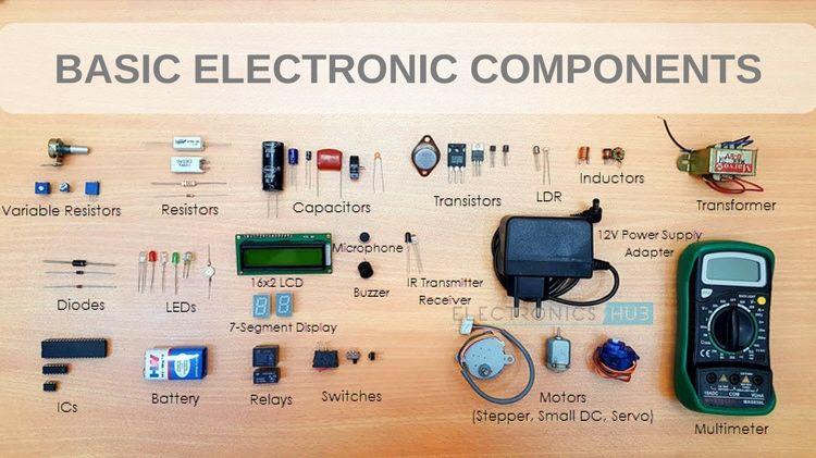 Basic Electronic Components | Electronics | Electronics