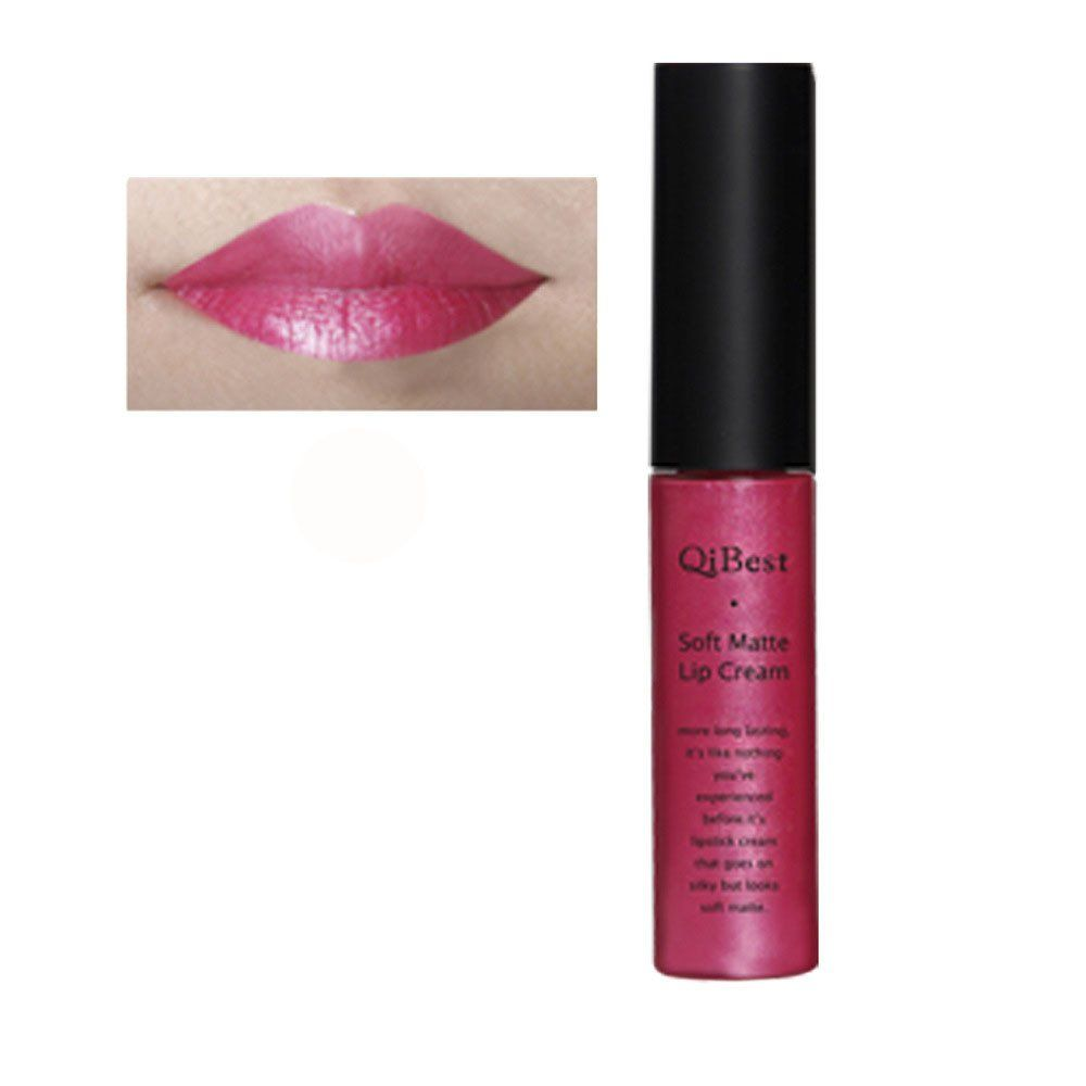 Kinghard Waterproof Matte liquid lipstick Long Lasting Lip Gloss Qibest Lipstick (Pink 06). Brand new, Fashion Design and high Quality. Size: Height:9cm Width:2cm. Suitable for professional use or home use. Features:Long lasting , Waterproof. Note:the picture shown is a representation of the item, you'll receive from the available lot. Picture may appear larger on your screen. Color may vary slightly due to the color setting of each individual monitor.