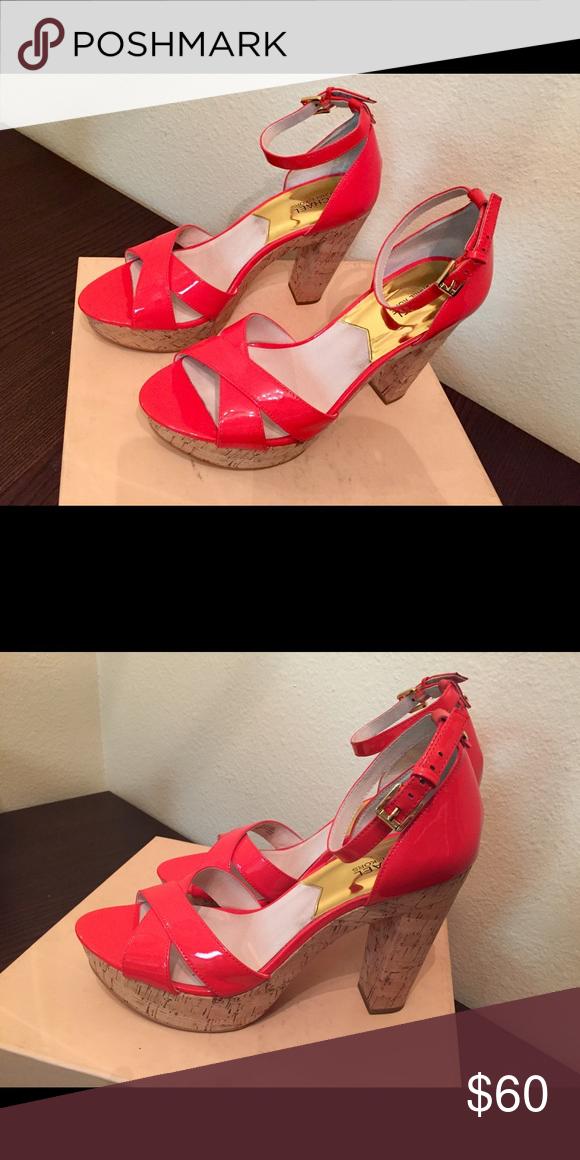 ca5db04f5aa Michael Kors heels Women s MK classy heals Michael Kors Shoes Heels