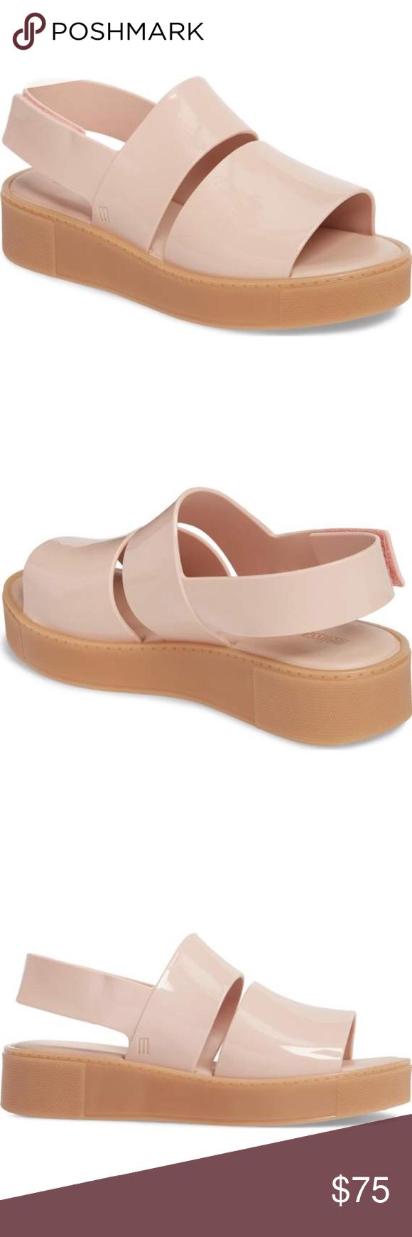 7856edf3fdce Melissa Soho Platform Sandal New without Box