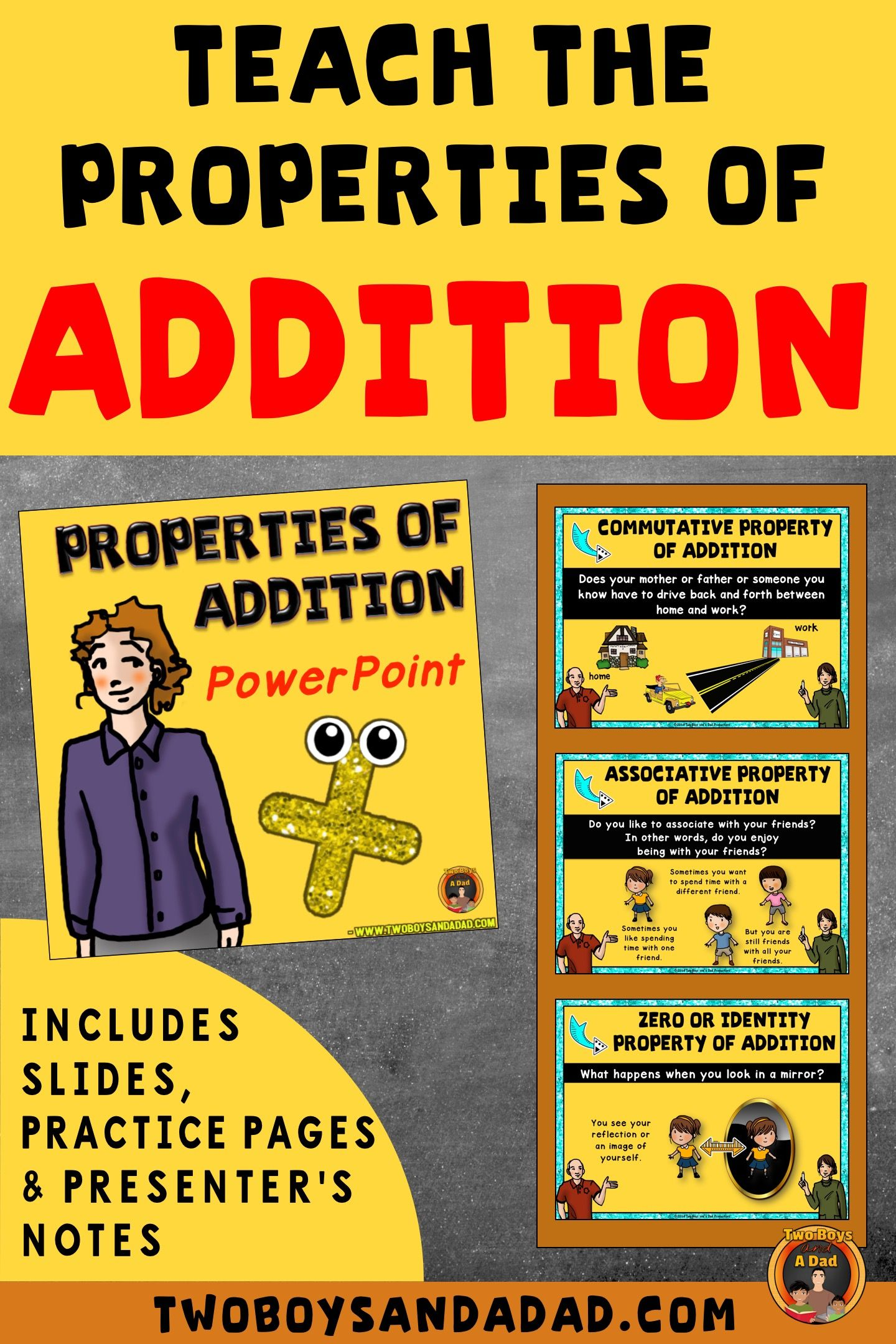 Properties Of Addition Lesson Powerpoint