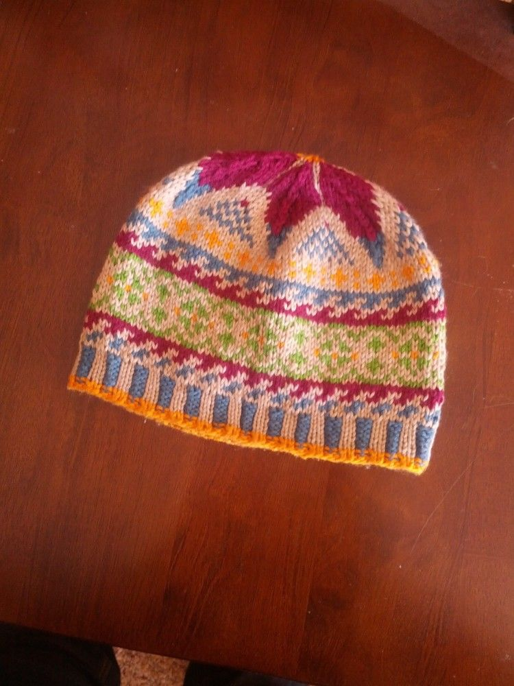 Project log: Cotton chemo cap in Knit Picks Comfy Sport #knitting ...