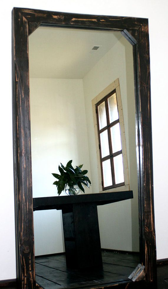 3 39 x 6 39 mirror large leaning mirror espejo vidrio y - Cristales y espejos ...