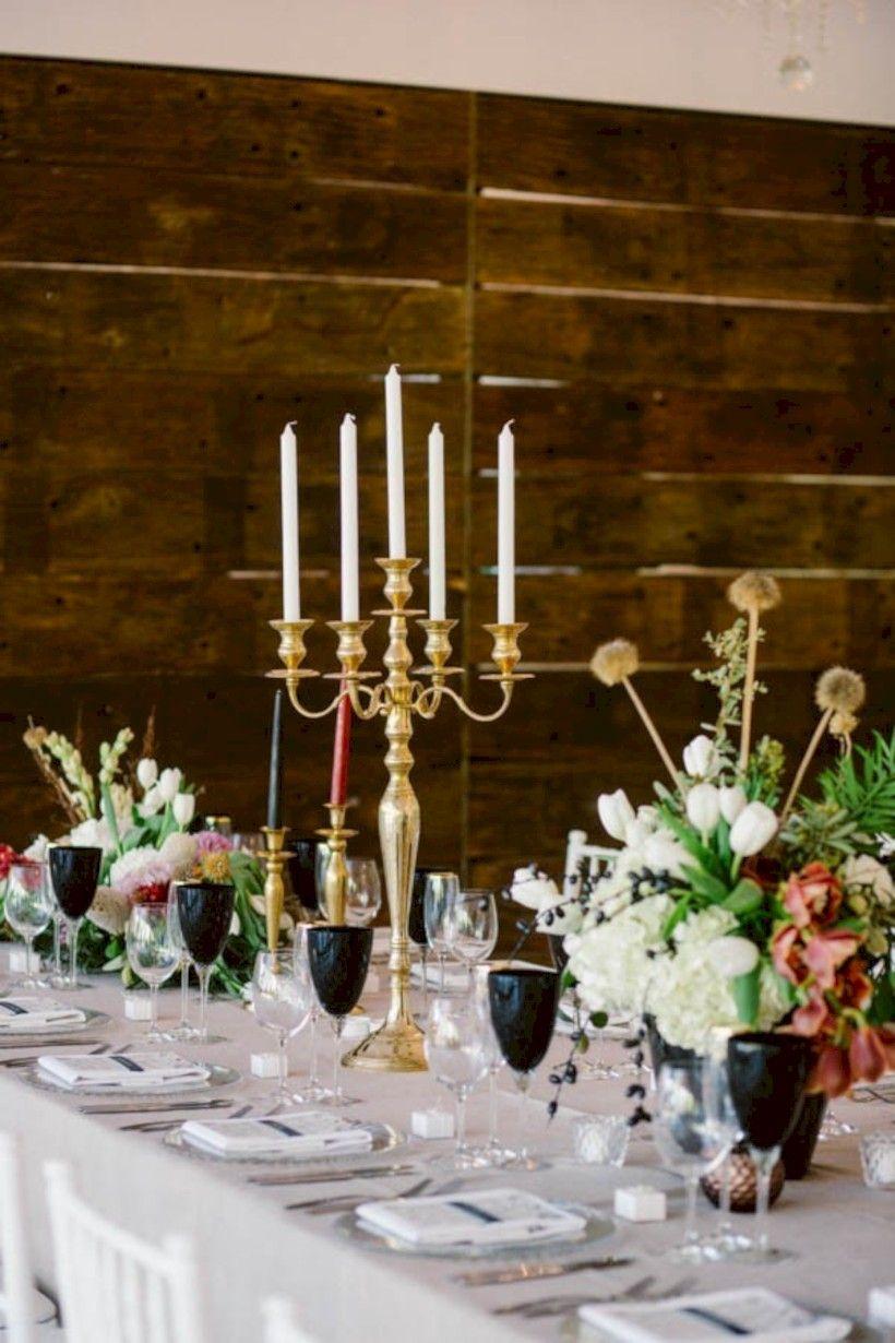 awesome 58 Romantic Halloween Wedding Centerpieces Ideas //viscawedding.com/2017/10/20/58-romantic-halloween-wedding- centerpieces-ideas/ & 58 Romantic Halloween Wedding Centerpieces Ideas | Pinterest ...