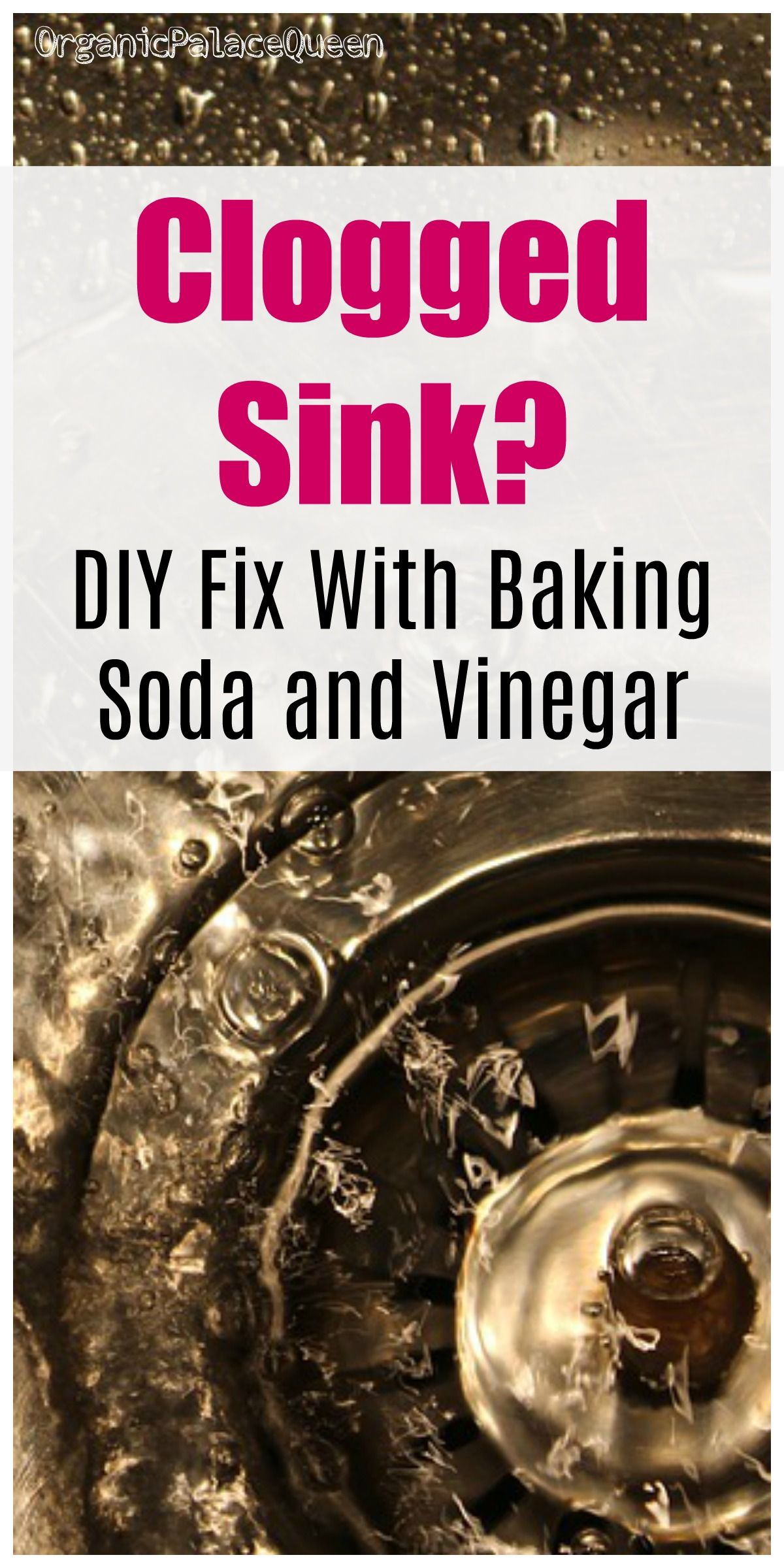 How to unclog a sink with vinegar and baking soda baking