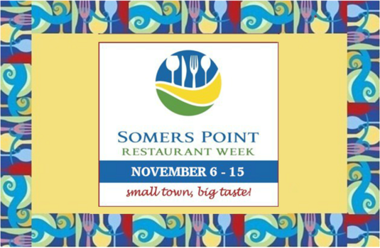 Plan some time at Somers Point, New Jersey for Restaurant Week November 6-15