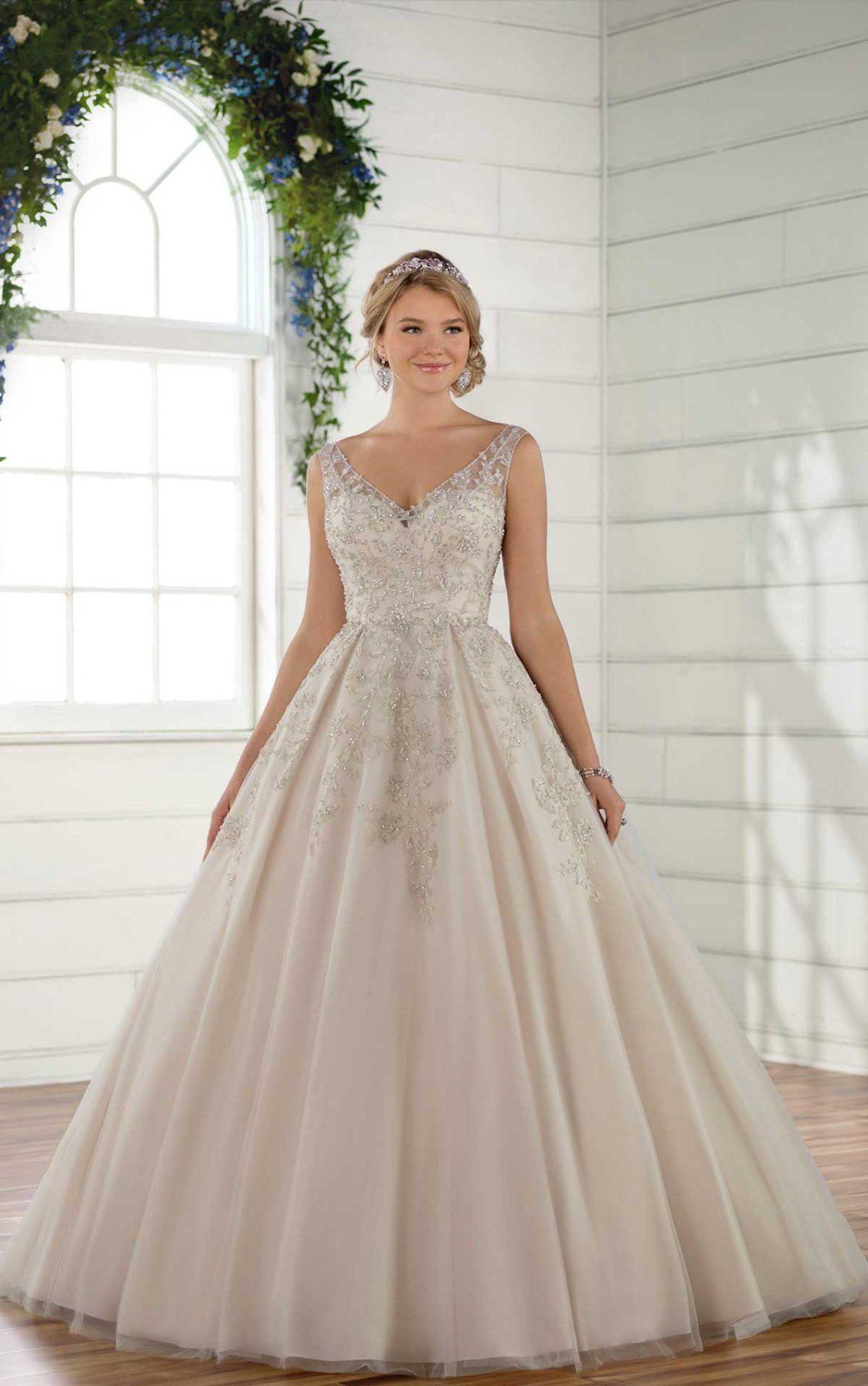 Essense wedding dress  Dramatic Ballgown Wedding Dress  Wedding Ideas  Pinterest  Beaded