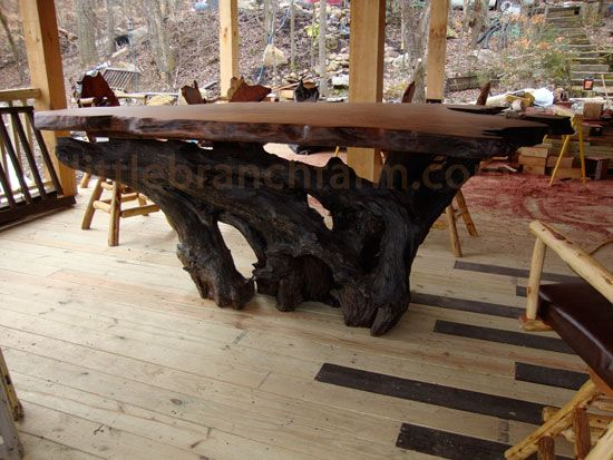 Elegant Stump Table Base
