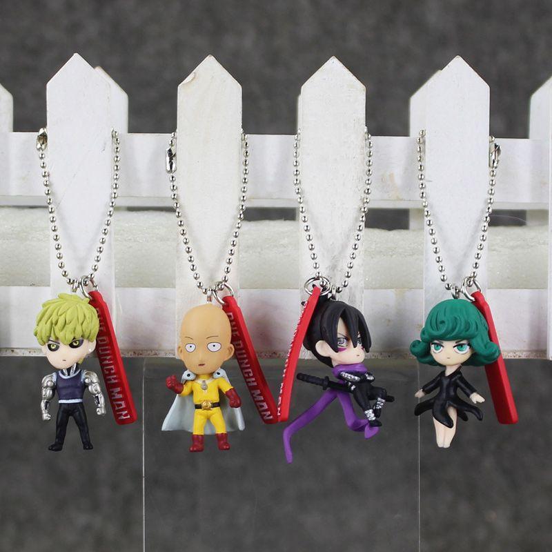//Saitama//genos//tatsumaki//Sonic One Punch Man-Key Chain Figure