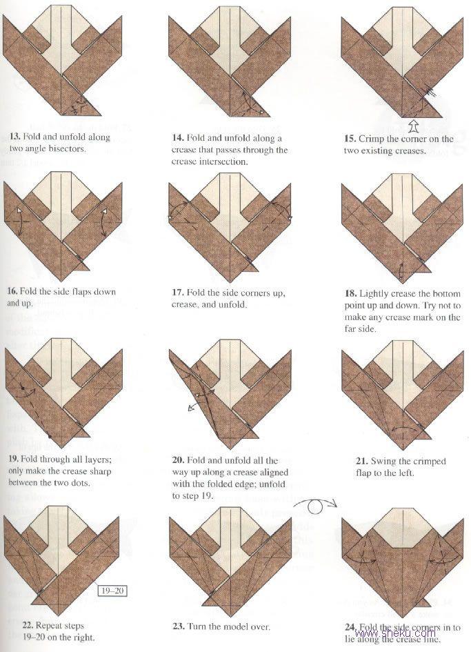 Robert j lang robert j lang e for Origami koi fish instructions