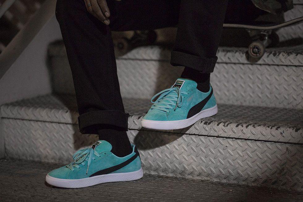 78512e3921a9de Puma Clyde Diamond Q4 On Feet  puma  clydediamond  sneakers  trainers