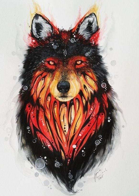 Photo of Fierce Wolf Tattoo Ideas