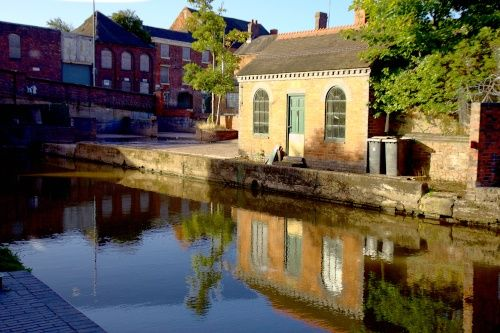 Atherstone Canal Lock Atherstone A Picture Of Atherstone