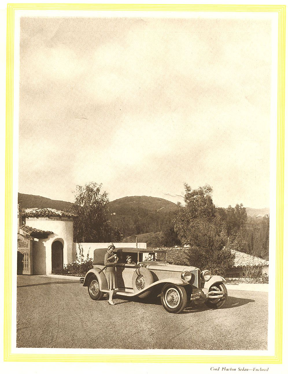 1929 Cord Phaeton Sedan - Enclosed (996×1290)