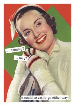 Your Naughty/Nice Christmas mix