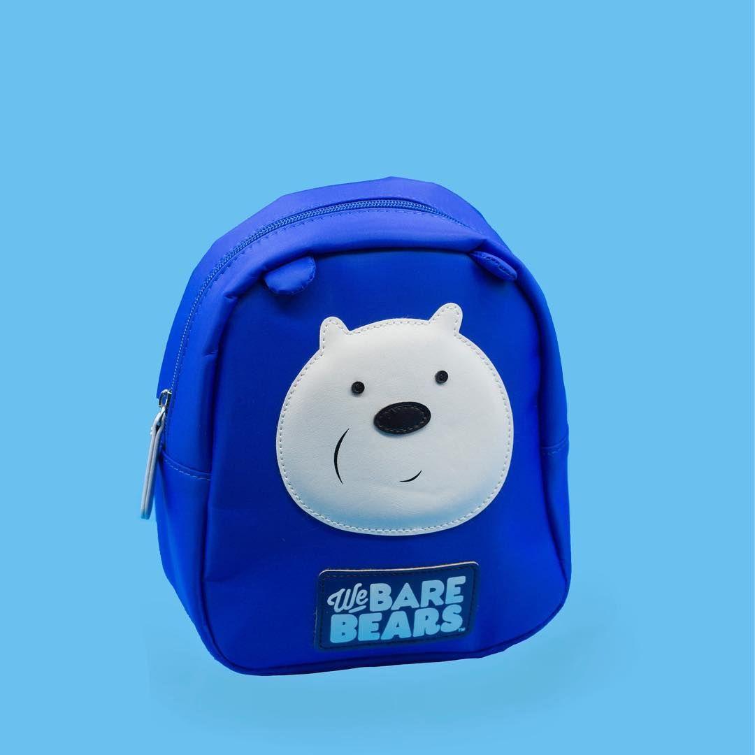 شنطة We Bare Bears السعر 3 150 د ك ميني سو الكويت ادوات مدرسة أصلي Miniosokuwait Stationary We Bare Bears Bare Bears Blue Backpack