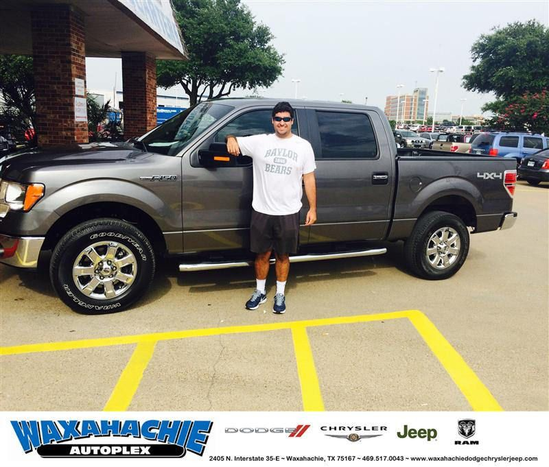Congratulations to Tyler Woodby on your Ford F150 from