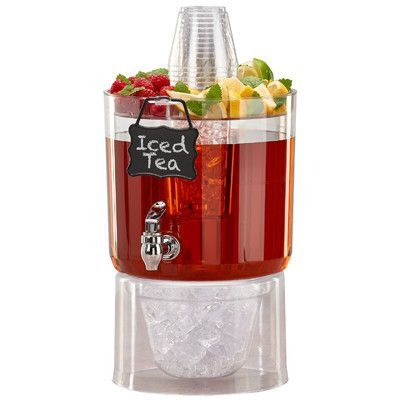 Rebrilliant Joe 1.75 Gallon Beverage Dispenser #homemadelemonaderecipes