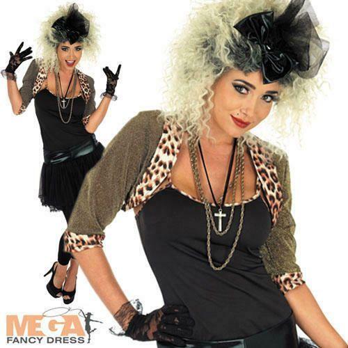 , 80s Pop Star Fancy Dress Ladies 1980s Madonna Celebrity Womens Adult Costume New #Ad , #ad, #Fancy#Dress#Ladies Rock star costumes Rock-star-costumes …, My Pop Star Kda Blog, My Pop Star Kda Blog
