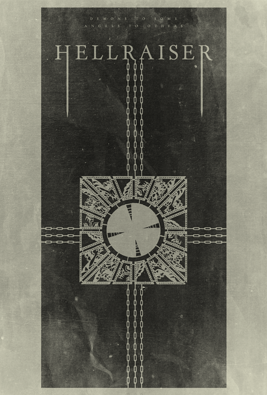 Jesus Wept Hellraiser Poster by disgorgeapocalypseviantart