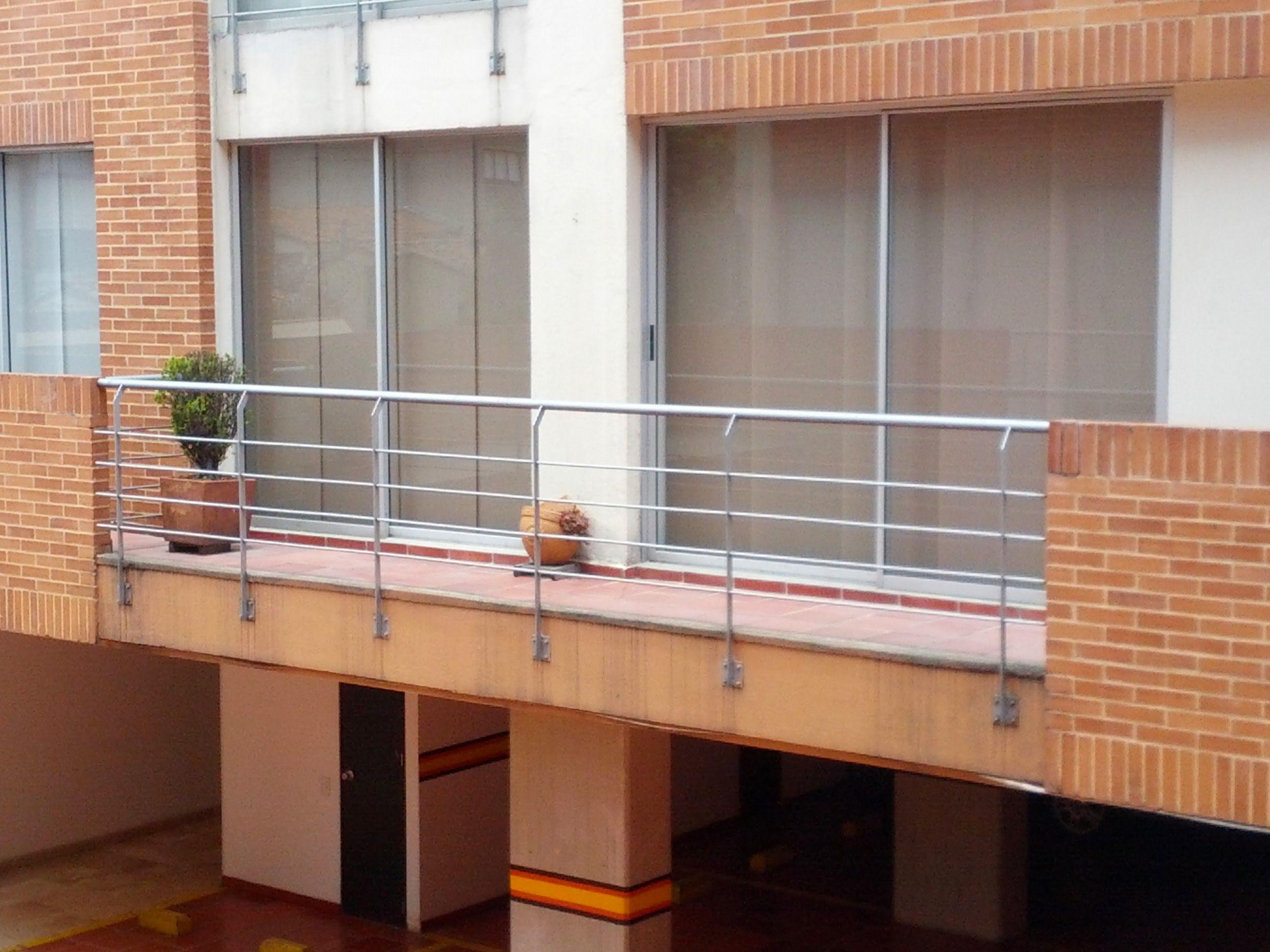 Barandas apartamentos