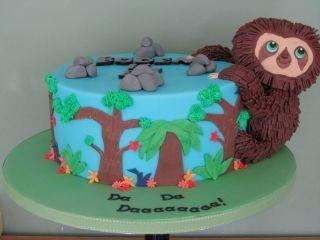 The croods cake - Cake by PatacakesJersey - CakesDecor