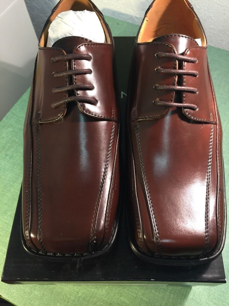Bolano boys new solid brown dress shoes k3519065 see